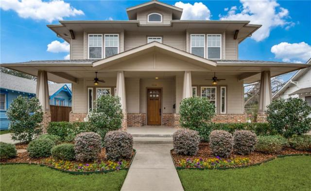 5510 Goodwin Avenue, Dallas, TX 75206 (MLS #14025758) :: The Mitchell Group