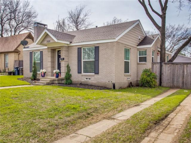 3032 6th Avenue, Fort Worth, TX 76110 (MLS #14025767) :: RE/MAX Town & Country