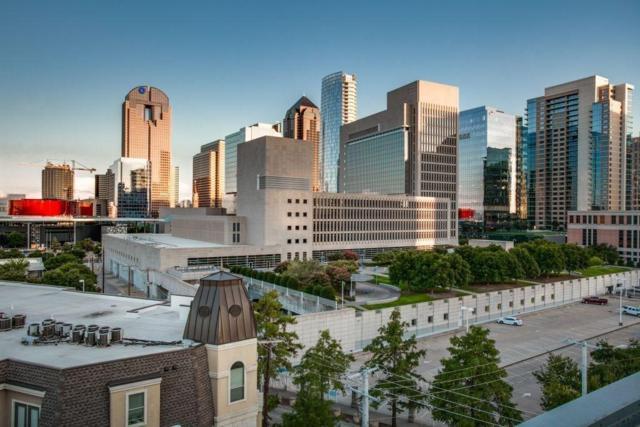 2300 Leonard Street #505, Dallas, TX 75201 (MLS #14025775) :: The Heyl Group at Keller Williams
