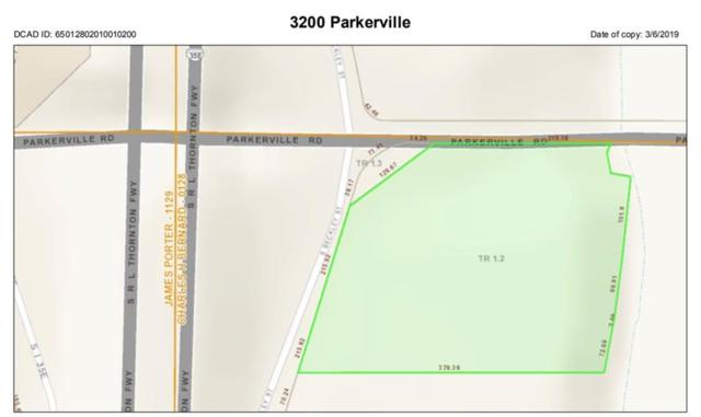 3200 Parkerville Road, Lancaster, TX 75146 (MLS #14025930) :: The Good Home Team