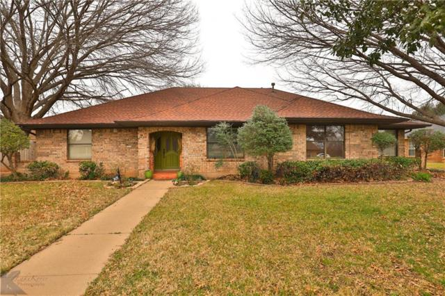 2425 Crestline Drive, Abilene, TX 79602 (MLS #14025971) :: The Tonya Harbin Team