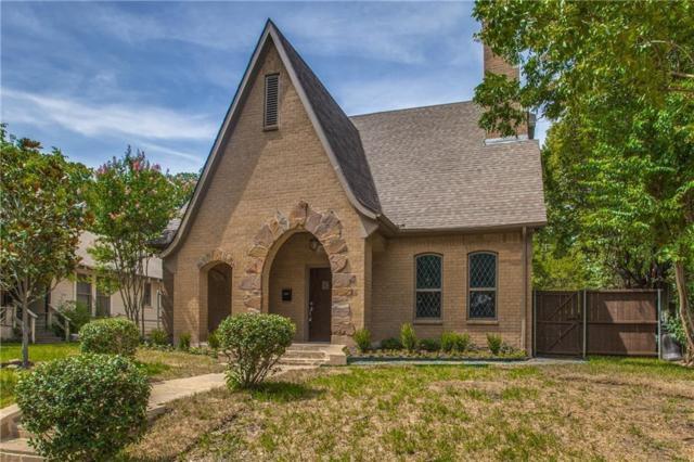 5339 Richard Avenue, Dallas, TX 75206 (MLS #14026265) :: The Heyl Group at Keller Williams