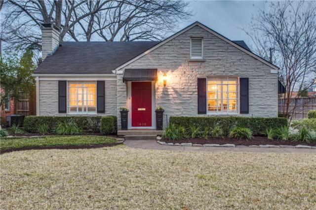 5600 W Amherst Avenue, Dallas, TX 75209 (MLS #14026377) :: Van Poole Properties Group