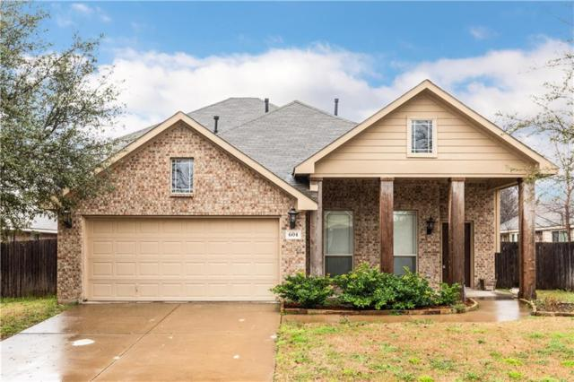 604 Vickie Street, Crowley, TX 76036 (MLS #14026469) :: The Mitchell Group
