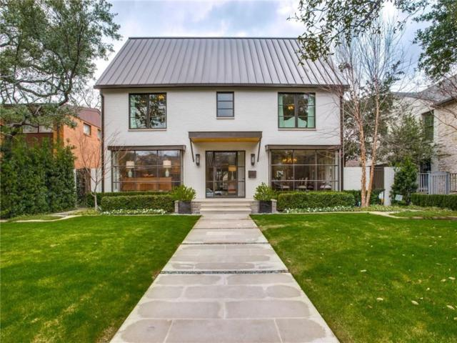 4440 Mcfarlin Boulevard, University Park, TX 75205 (MLS #14026473) :: Van Poole Properties Group