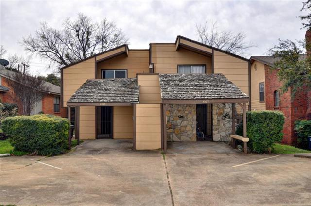 4825 Fletcher Avenue, Fort Worth, TX 76107 (MLS #14026501) :: The Chad Smith Team