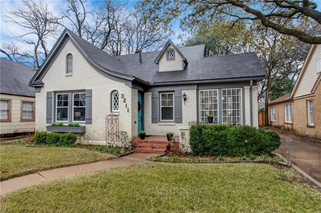 3211 Cockrell Avenue, Fort Worth, TX 76109 (MLS #14027044) :: The Good Home Team