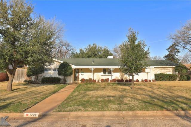 1726 Sylvan Drive, Abilene, TX 79605 (MLS #14027145) :: The Tonya Harbin Team
