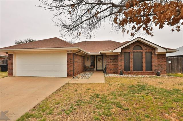 5150 Big Sky Drive, Abilene, TX 79606 (MLS #14027211) :: The Mitchell Group