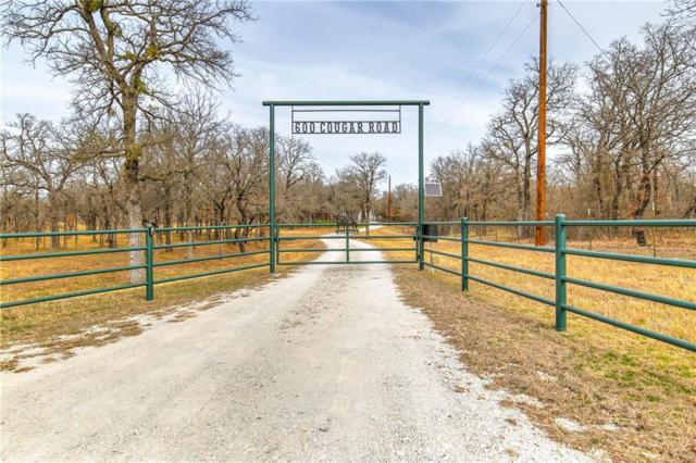 600 Cougar Road, Lipan, TX 76439 (MLS #14027367) :: Robbins Real Estate Group