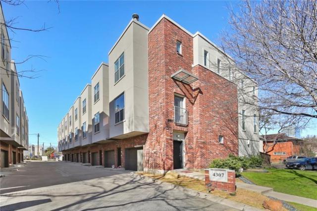 4307 Mckinney Avenue #5, Dallas, TX 75205 (MLS #14027729) :: Roberts Real Estate Group