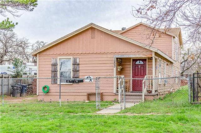 1203 Harrington Avenue, Fort Worth, TX 76164 (MLS #14027741) :: RE/MAX Town & Country