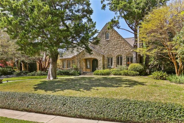 4119 Rock Creek Drive, Dallas, TX 75204 (MLS #14027935) :: RE/MAX Town & Country