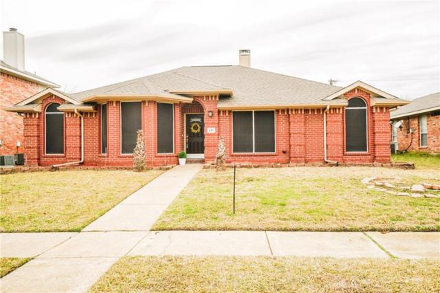 211 Towngate Drive, Wylie, TX 75098 (MLS #14028430) :: RE/MAX Pinnacle Group REALTORS