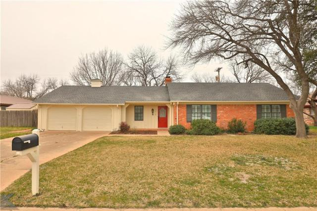 2918 Arrowhead Drive, Abilene, TX 79606 (MLS #14028565) :: The Mitchell Group