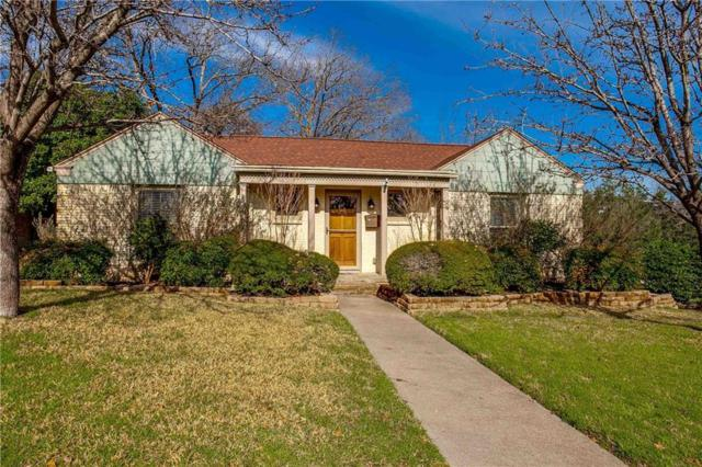 7019 Lindsley Avenue, Dallas, TX 75223 (MLS #14028674) :: RE/MAX Town & Country