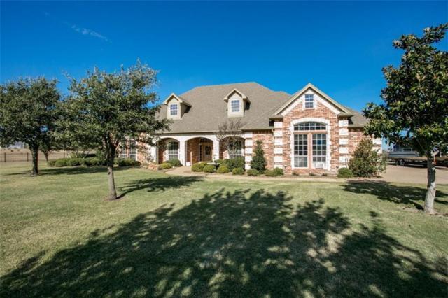 2005 White Lane, Haslet, TX 76052 (MLS #14028777) :: Van Poole Properties Group