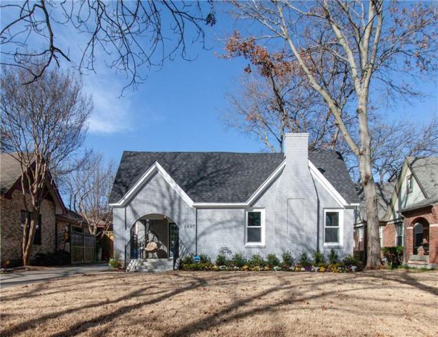 1007 N Clinton Avenue, Dallas, TX 75208 (MLS #14028921) :: RE/MAX Town & Country