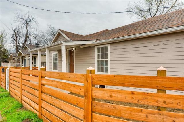 1422 Dennison Street, Dallas, TX 75212 (MLS #14029005) :: Robbins Real Estate Group