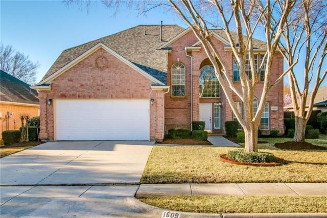 1609 Crabapple Lane, Flower Mound, TX 75028 (MLS #14029116) :: Real Estate By Design