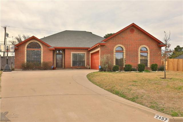 2457 Township Court, Abilene, TX 79601 (MLS #14030267) :: RE/MAX Town & Country