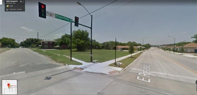 2842 E Rosedale Street, Fort Worth, TX 76105 (MLS #14030505) :: Frankie Arthur Real Estate