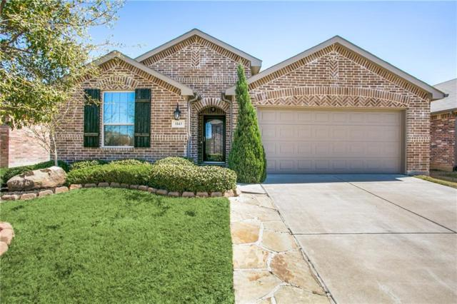 1143 Grimes Drive, Forney, TX 75126 (MLS #14031002) :: Robbins Real Estate Group