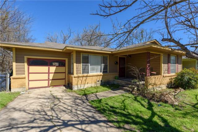 1108 Crescent Street, Denton, TX 76201 (MLS #14031523) :: Real Estate By Design