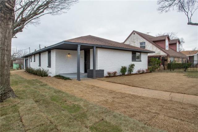 1602 Lebanon Avenue, Dallas, TX 75208 (MLS #14031545) :: RE/MAX Town & Country