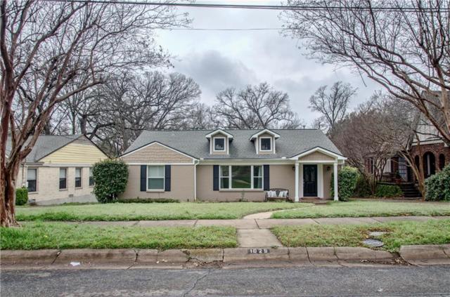1029 Valencia Street, Dallas, TX 75223 (MLS #14031681) :: The Good Home Team