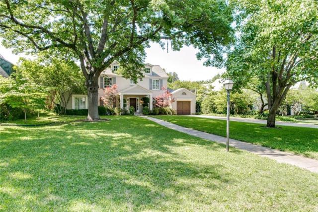 5330 Montrose Drive, Dallas, TX 75209 (MLS #14031693) :: RE/MAX Town & Country