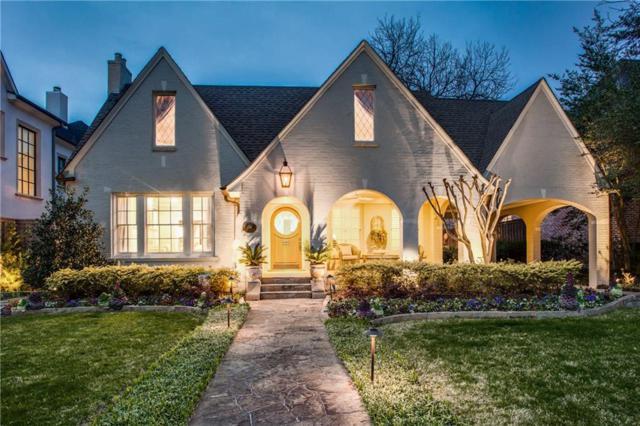 3314 Drexel Drive, Highland Park, TX 75205 (MLS #14032280) :: Real Estate By Design