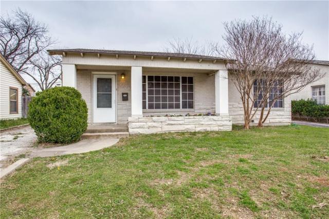 2729 Frazier Avenue, Fort Worth, TX 76110 (MLS #14032372) :: Century 21 Judge Fite Company