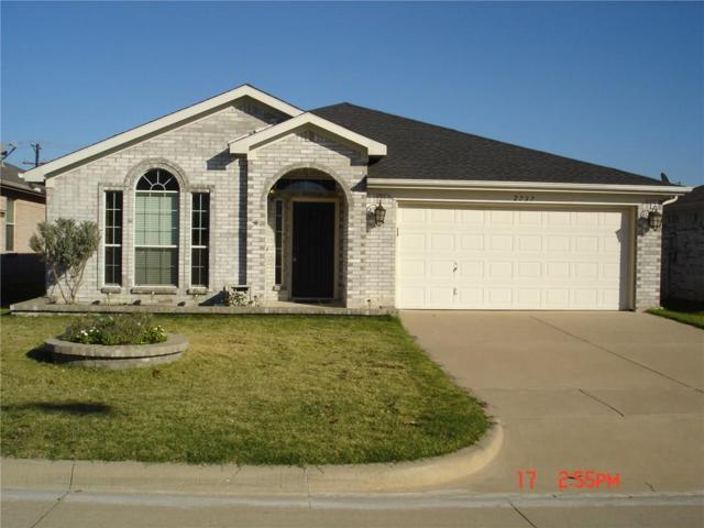 2737 Castro Lane, Fort Worth, TX 76108 (MLS #14032739) :: RE/MAX Town & Country