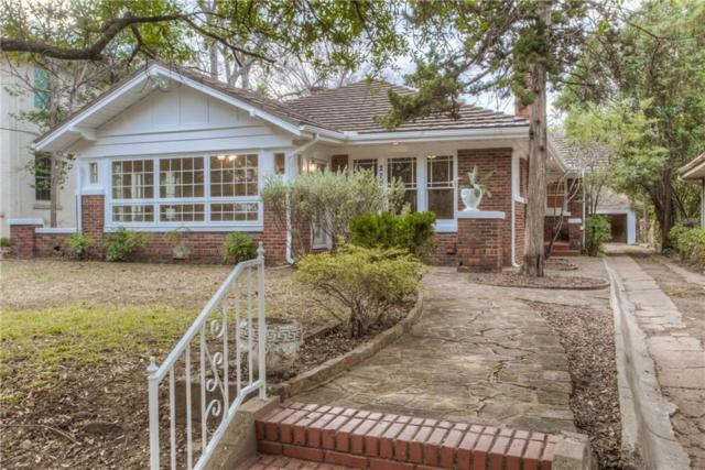 2205 Park Place Avenue, Fort Worth, TX 76110 (MLS #14033991) :: The Good Home Team