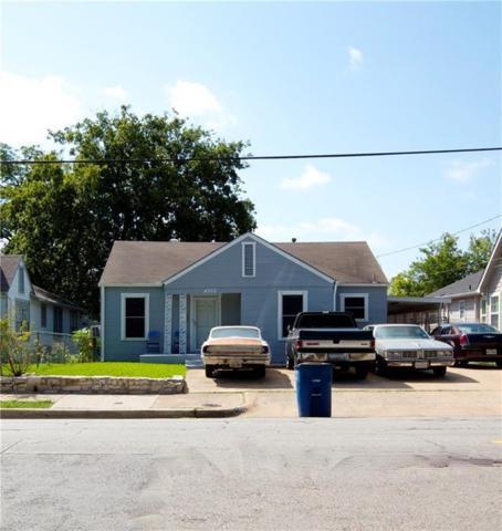 4322 Capitol Avenue, Dallas, TX 75204 (MLS #14034027) :: RE/MAX Town & Country