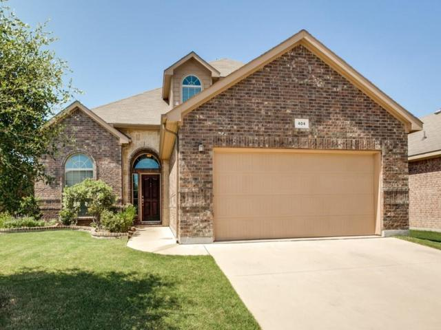 404 Branding Iron Trail, Fort Worth, TX 76131 (MLS #14034136) :: The Good Home Team