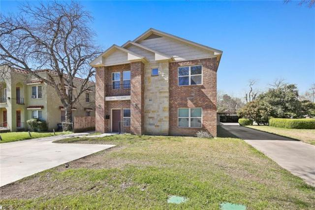 3408 S University Drive, Fort Worth, TX 76109 (MLS #14034956) :: The Mitchell Group