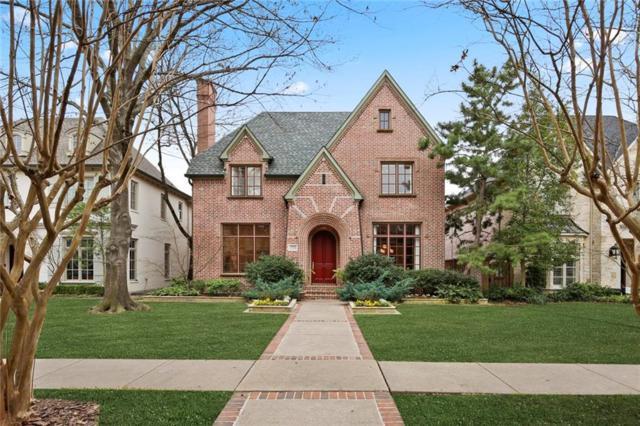 3715 Stanford Avenue, University Park, TX 75225 (MLS #14035182) :: Robbins Real Estate Group