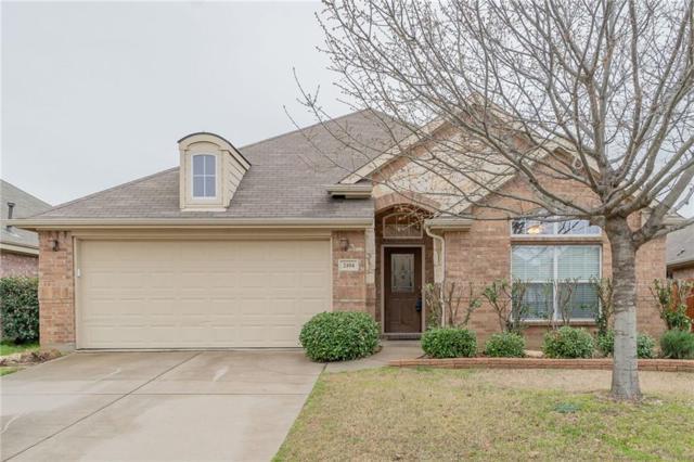 2104 Scott Creek Drive, Little Elm, TX 75068 (MLS #14035399) :: Team Tiller