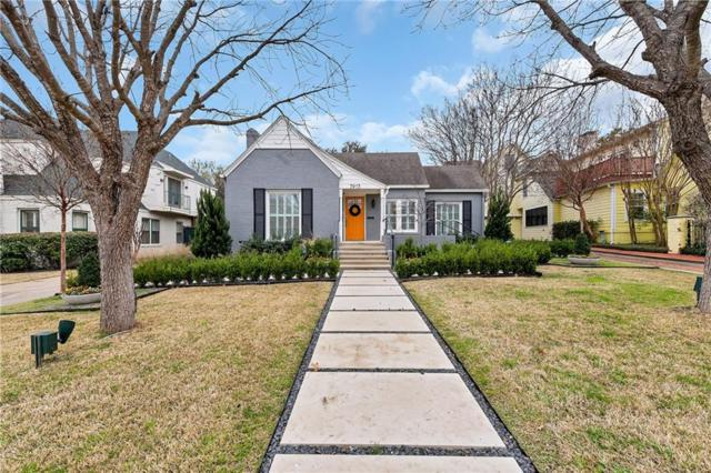 3913 Hamilton Avenue, Fort Worth, TX 76107 (MLS #14035555) :: The Mitchell Group