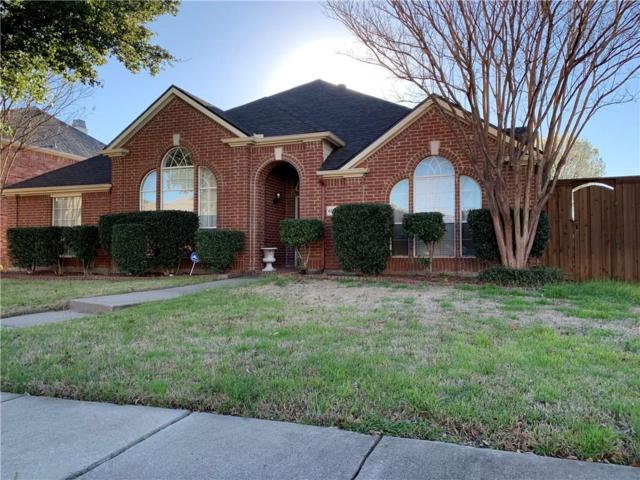 6929 Pensacola Drive, Plano, TX 75074 (MLS #14035640) :: RE/MAX Town & Country