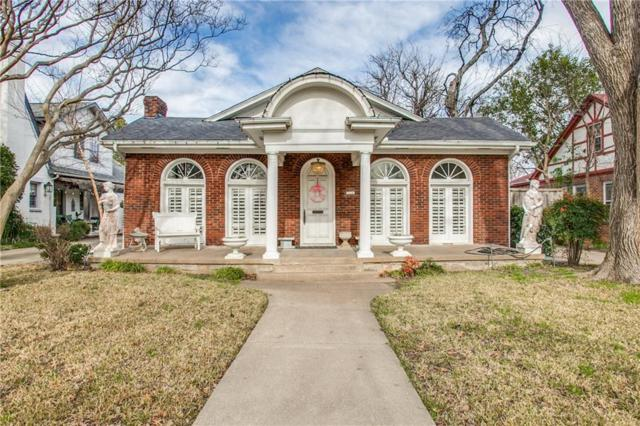 720 Lipscomb Avenue, Dallas, TX 75214 (MLS #14036398) :: Century 21 Judge Fite Company