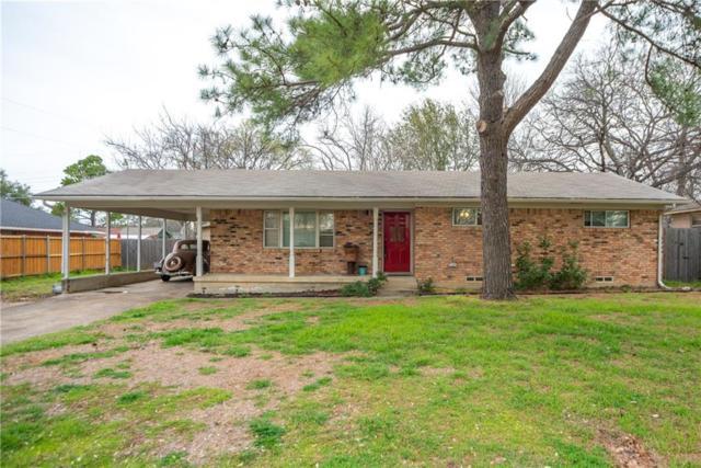 607 Cain Street, Lake Dallas, TX 75065 (MLS #14036487) :: Baldree Home Team