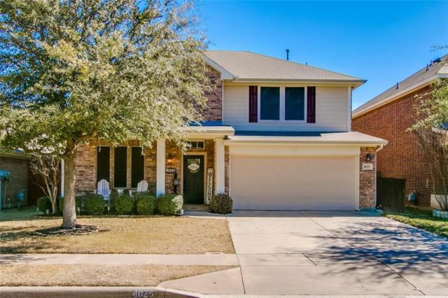 4025 Ringdove Way, Fort Worth, TX 76262 (MLS #14037567) :: The Chad Smith Team