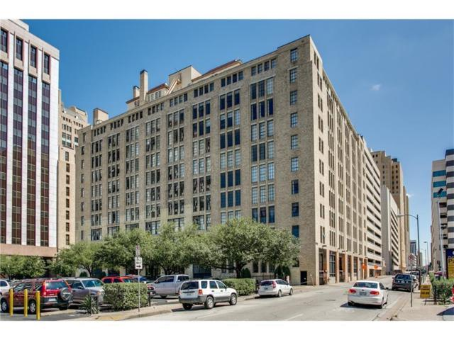 1122 Jackson Street #916, Dallas, TX 75202 (MLS #14037584) :: HergGroup Dallas-Fort Worth