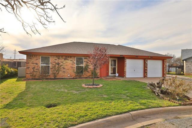 6034 Amy Circle, Abilene, TX 79606 (MLS #14037733) :: The Heyl Group at Keller Williams
