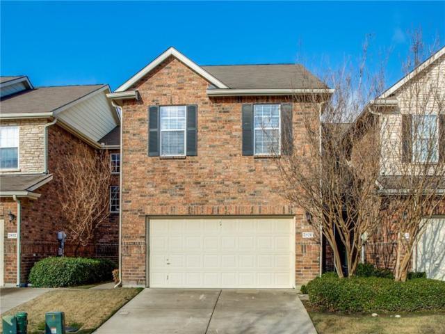 2928 Muirfield Drive, Lewisville, TX 75067 (MLS #14038113) :: The Heyl Group at Keller Williams