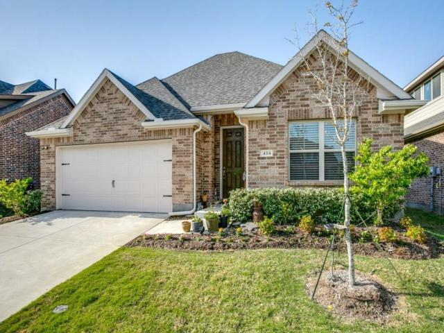 416 Barnstorm Drive, Celina, TX 75009 (MLS #14038192) :: Real Estate By Design