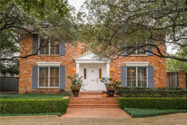 4029 Greenbrier Drive, University Park, TX 75225 (MLS #14038373) :: Robbins Real Estate Group